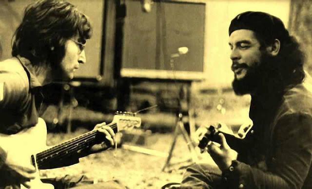 O Mistério Da Foto De John Lennon Com Che Guevara