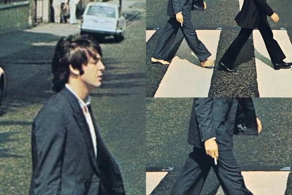 Resultado de imagem para paul mccartney descalço